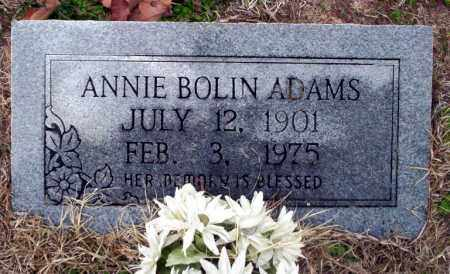 BOLIN ADAMS, ANNIE - Ouachita County, Arkansas | ANNIE BOLIN ADAMS - Arkansas Gravestone Photos