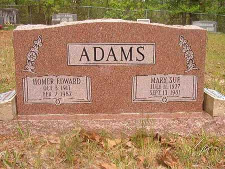 ADAMS, HOMER EDWARD - Ouachita County, Arkansas | HOMER EDWARD ADAMS - Arkansas Gravestone Photos