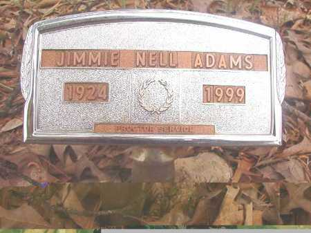ADAMS, JIMMIE NELL - Ouachita County, Arkansas | JIMMIE NELL ADAMS - Arkansas Gravestone Photos