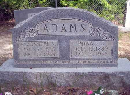 ADAMS, REV, SAMUEL N - Ouachita County, Arkansas | SAMUEL N ADAMS, REV - Arkansas Gravestone Photos
