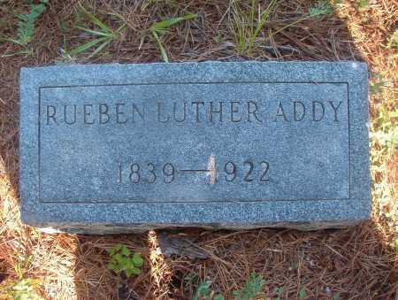ADDY, RUEBEN LUTHER - Ouachita County, Arkansas | RUEBEN LUTHER ADDY - Arkansas Gravestone Photos