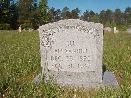 ALEXANDER, ELI - Ouachita County, Arkansas | ELI ALEXANDER - Arkansas Gravestone Photos