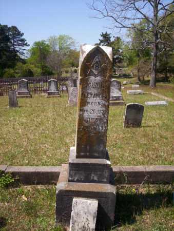 ALEXANDER, JOHN L - Ouachita County, Arkansas | JOHN L ALEXANDER - Arkansas Gravestone Photos