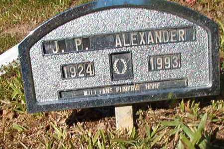 ALEXANDER, J P - Ouachita County, Arkansas | J P ALEXANDER - Arkansas Gravestone Photos