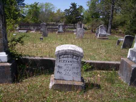 ALEXANDER, NANCY A - Ouachita County, Arkansas | NANCY A ALEXANDER - Arkansas Gravestone Photos