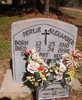 ALEXANDER, PERLIE - Ouachita County, Arkansas | PERLIE ALEXANDER - Arkansas Gravestone Photos