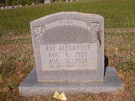 ALEXANDER, RAY - Ouachita County, Arkansas | RAY ALEXANDER - Arkansas Gravestone Photos