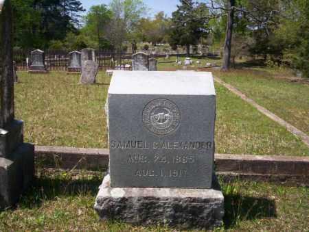 ALEXANDER, SAMUEL C - Ouachita County, Arkansas | SAMUEL C ALEXANDER - Arkansas Gravestone Photos