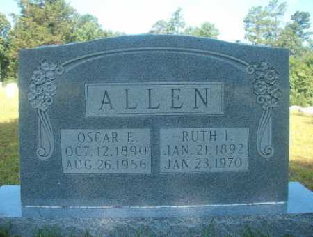 ALLEN, OSCAR E - Ouachita County, Arkansas | OSCAR E ALLEN - Arkansas Gravestone Photos
