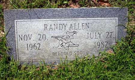 ALLEN, RANDY - Ouachita County, Arkansas | RANDY ALLEN - Arkansas Gravestone Photos