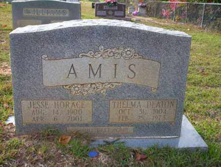 AMIS, JESSE HORACE - Ouachita County, Arkansas | JESSE HORACE AMIS - Arkansas Gravestone Photos
