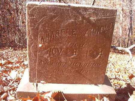 ARNOLD, ANABELE - Ouachita County, Arkansas | ANABELE ARNOLD - Arkansas Gravestone Photos