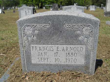 ARNOLD, FRANCIS E - Ouachita County, Arkansas | FRANCIS E ARNOLD - Arkansas Gravestone Photos