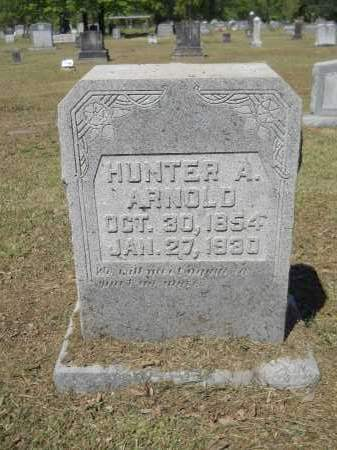 ARNOLD, HUNTER A - Ouachita County, Arkansas | HUNTER A ARNOLD - Arkansas Gravestone Photos