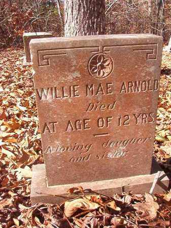 ARNOLD, WILLIE MAE - Ouachita County, Arkansas | WILLIE MAE ARNOLD - Arkansas Gravestone Photos