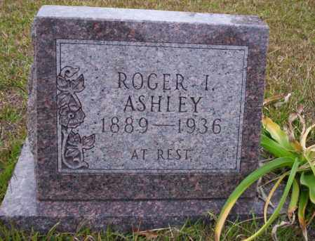 ASHLEY, ROGER I - Ouachita County, Arkansas | ROGER I ASHLEY - Arkansas Gravestone Photos