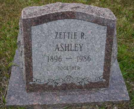 ASHLEY, ZETTIE R - Ouachita County, Arkansas | ZETTIE R ASHLEY - Arkansas Gravestone Photos