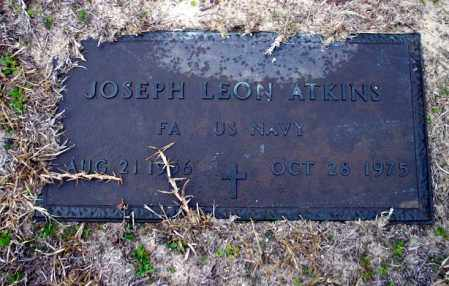 ATKINS  (VETERAN), JOSEPH LEON - Ouachita County, Arkansas | JOSEPH LEON ATKINS  (VETERAN) - Arkansas Gravestone Photos