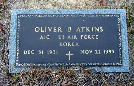 ATKINS  (VETERAN KOR), OLIVER B - Ouachita County, Arkansas | OLIVER B ATKINS  (VETERAN KOR) - Arkansas Gravestone Photos