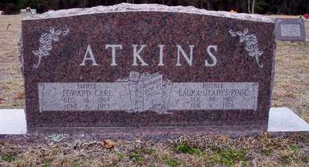 POOL ATKINS, LAURA GLADYS - Ouachita County, Arkansas | LAURA GLADYS POOL ATKINS - Arkansas Gravestone Photos