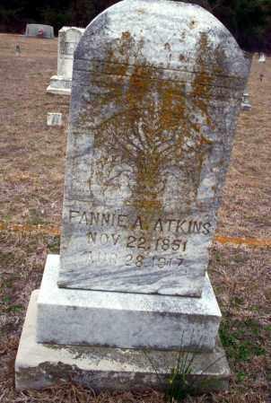 ATKINS, FANNIE A - Ouachita County, Arkansas | FANNIE A ATKINS - Arkansas Gravestone Photos