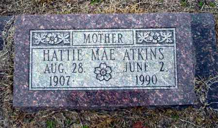ATKINS, HATTIE MAE - Ouachita County, Arkansas | HATTIE MAE ATKINS - Arkansas Gravestone Photos