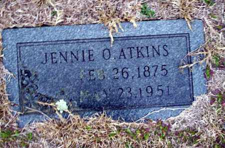 ATKINS, JENNIE O - Ouachita County, Arkansas | JENNIE O ATKINS - Arkansas Gravestone Photos