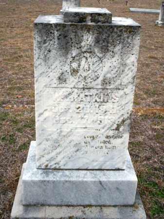 ATKINS, W.H. - Ouachita County, Arkansas | W.H. ATKINS - Arkansas Gravestone Photos
