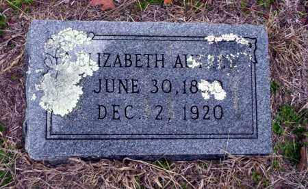 AUTREY, ELIZABETH - Ouachita County, Arkansas | ELIZABETH AUTREY - Arkansas Gravestone Photos