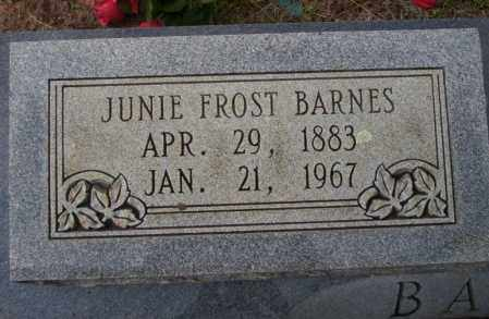 BARNES, JUNIE FROST - Ouachita County, Arkansas | JUNIE FROST BARNES - Arkansas Gravestone Photos