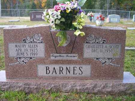 BARNES, MAURY ALLEN - Ouachita County, Arkansas | MAURY ALLEN BARNES - Arkansas Gravestone Photos