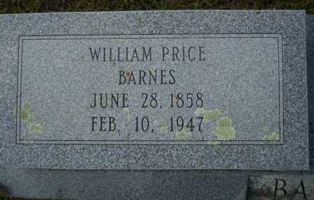 BARNES, WILLIAM PRICE - Ouachita County, Arkansas | WILLIAM PRICE BARNES - Arkansas Gravestone Photos