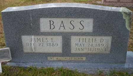 BASS, JAMES E - Ouachita County, Arkansas | JAMES E BASS - Arkansas Gravestone Photos