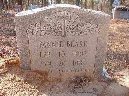 BEARD, FANNIE - Ouachita County, Arkansas | FANNIE BEARD - Arkansas Gravestone Photos