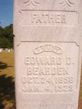 BEARDEN, EDWARD DAVID - Ouachita County, Arkansas | EDWARD DAVID BEARDEN - Arkansas Gravestone Photos