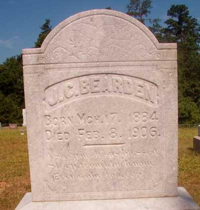 BEARDEN, J C - Ouachita County, Arkansas | J C BEARDEN - Arkansas Gravestone Photos