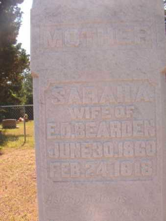 BEARDEN, SARAH ADA - Ouachita County, Arkansas | SARAH ADA BEARDEN - Arkansas Gravestone Photos