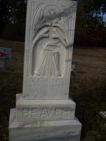 BEAVER, E.A. - Ouachita County, Arkansas | E.A. BEAVER - Arkansas Gravestone Photos