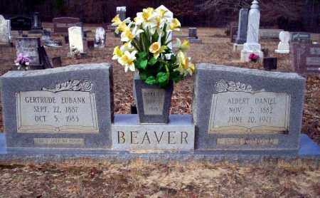 BEAVER, ALBERT DANIEL - Ouachita County, Arkansas | ALBERT DANIEL BEAVER - Arkansas Gravestone Photos