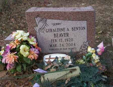 BEAVER, GERALDINE A - Ouachita County, Arkansas | GERALDINE A BEAVER - Arkansas Gravestone Photos