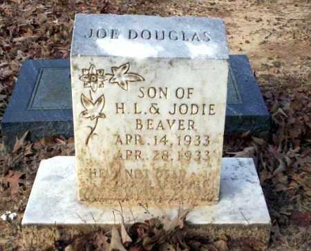 BEAVER, JOE DOUGLAS - Ouachita County, Arkansas | JOE DOUGLAS BEAVER - Arkansas Gravestone Photos