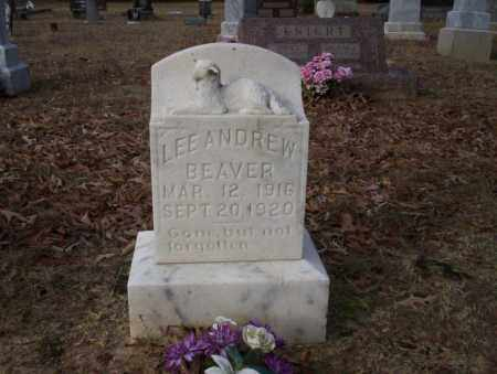 BEAVER, LEE ANDREW - Ouachita County, Arkansas | LEE ANDREW BEAVER - Arkansas Gravestone Photos