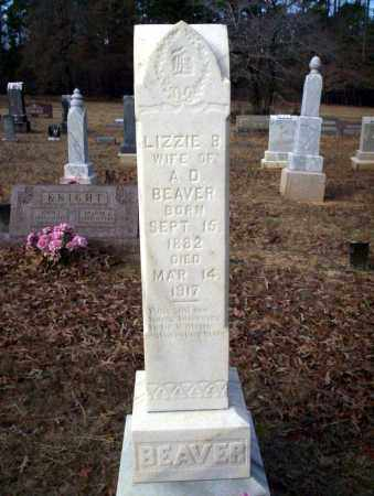 BEAVER, LIZZIE B - Ouachita County, Arkansas | LIZZIE B BEAVER - Arkansas Gravestone Photos