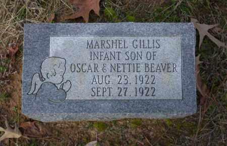 BEAVER, MARSHEL GILLIS - Ouachita County, Arkansas | MARSHEL GILLIS BEAVER - Arkansas Gravestone Photos
