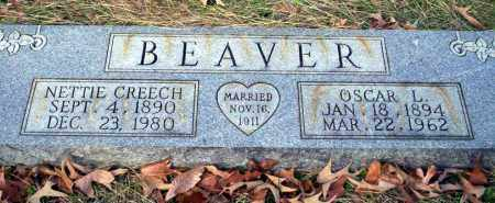 CREECH BEAVER, NETTIE - Ouachita County, Arkansas | NETTIE CREECH BEAVER - Arkansas Gravestone Photos