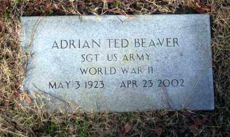 BEAVER (VETERAN WWII), ADRIAN TED - Ouachita County, Arkansas | ADRIAN TED BEAVER (VETERAN WWII) - Arkansas Gravestone Photos