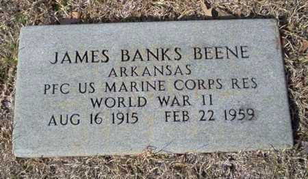BEENE (VETERAN WWII), JAMES BANKS - Ouachita County, Arkansas | JAMES BANKS BEENE (VETERAN WWII) - Arkansas Gravestone Photos