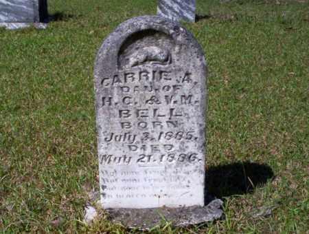 BELL, CARRIE A. - Ouachita County, Arkansas | CARRIE A. BELL - Arkansas Gravestone Photos