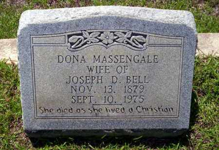 BELL, DONA - Ouachita County, Arkansas | DONA BELL - Arkansas Gravestone Photos