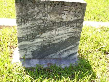 BELL, JOHN E. - Ouachita County, Arkansas | JOHN E. BELL - Arkansas Gravestone Photos